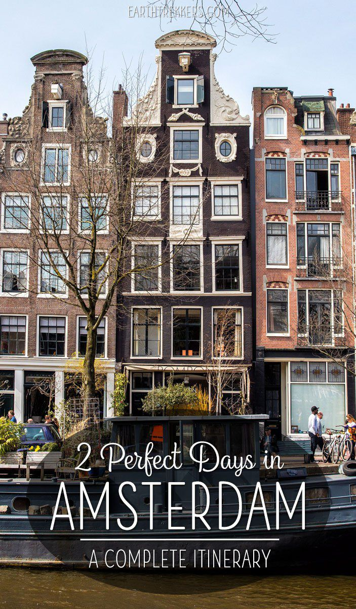 48 Hours in Amsterdam Itinerary