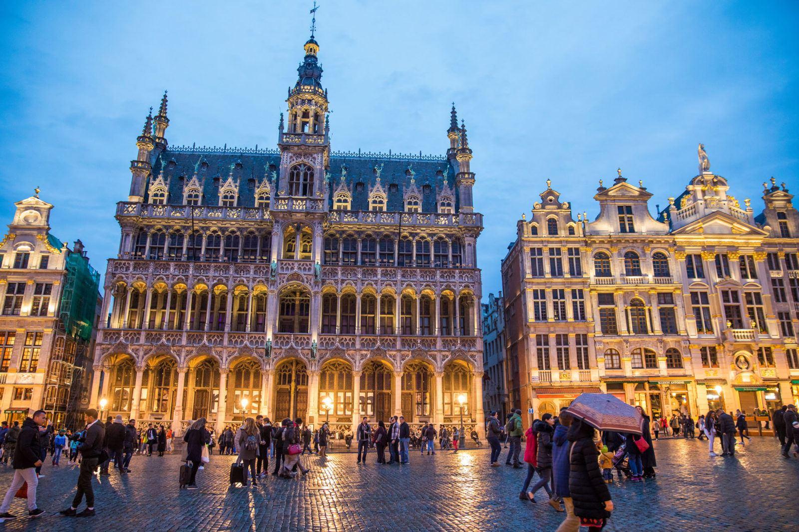 Amsterdam Brussels Paris Itinerary