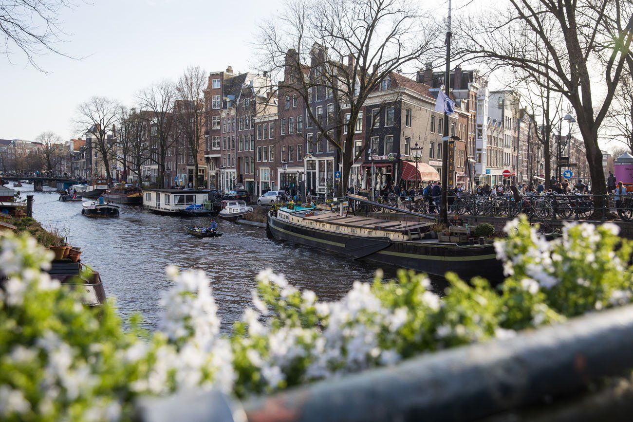 Amsterdam in April