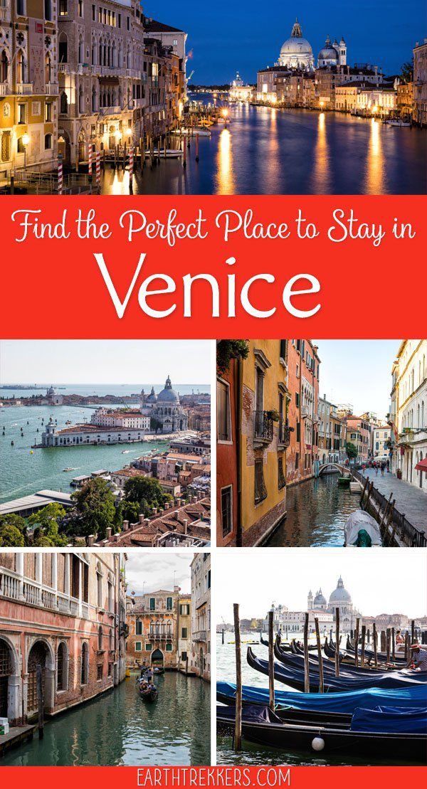 Best places to stay in Venice, by neighborhood and budget. Take your pick from San Marco, San Polo, Santa Croce, Dosoduro, Cannaregio, Castello, and Guidecca. #venice #italy #wheretostay #besthotels