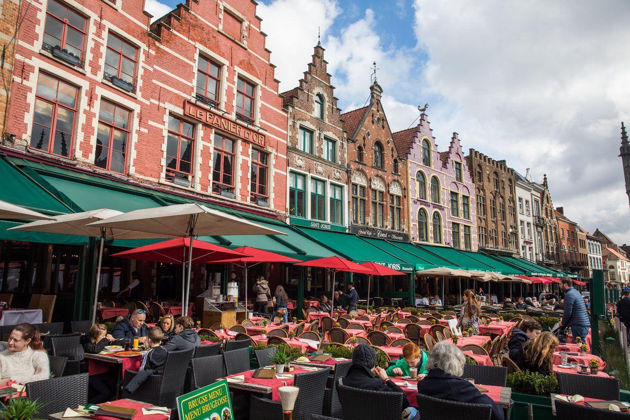 Bruges Cafes