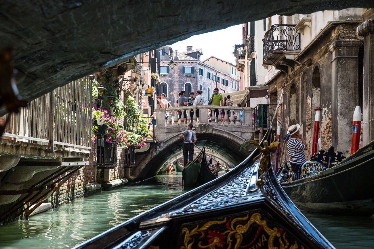 Gondolas in the Canal