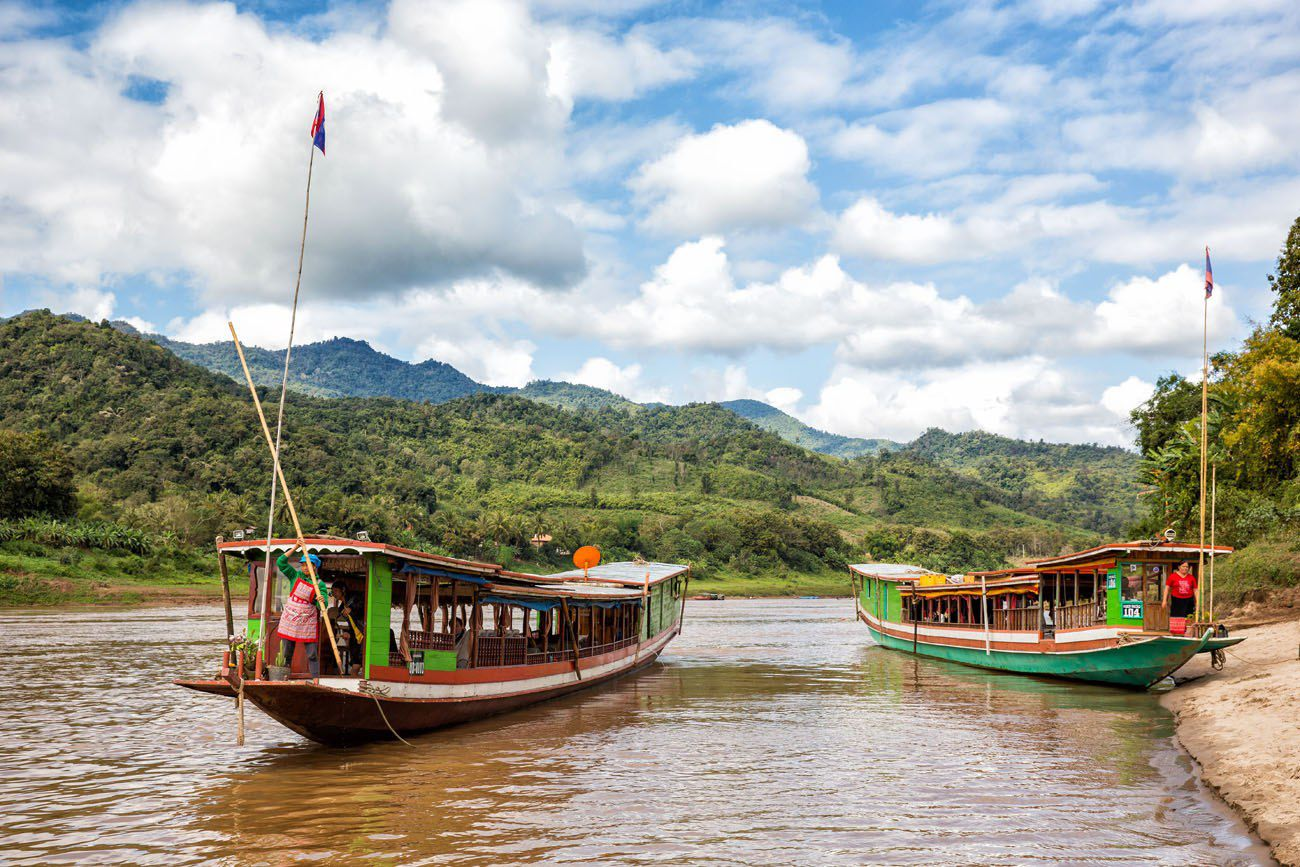 Laos Mekong River