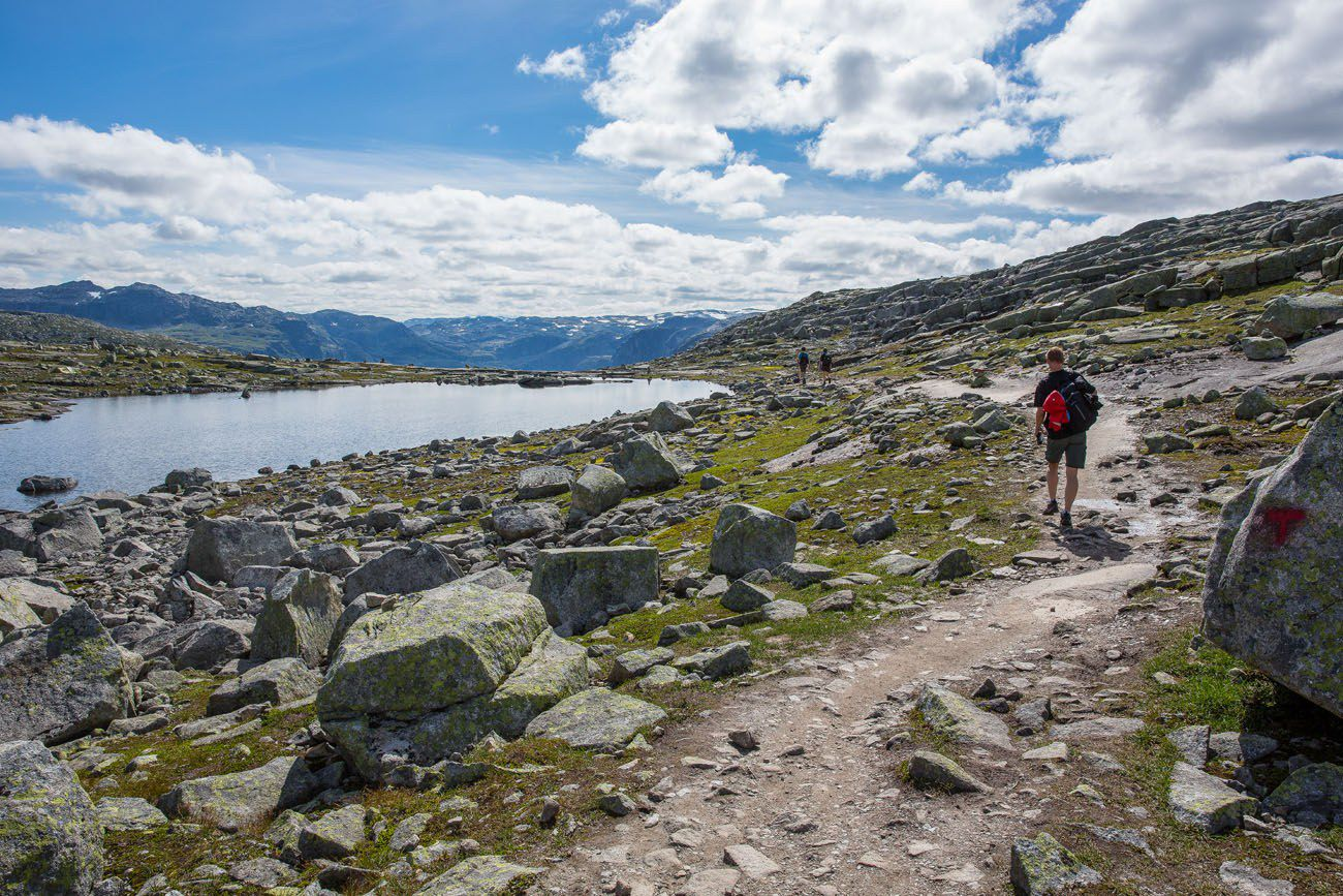 On the Trolltunga Trail