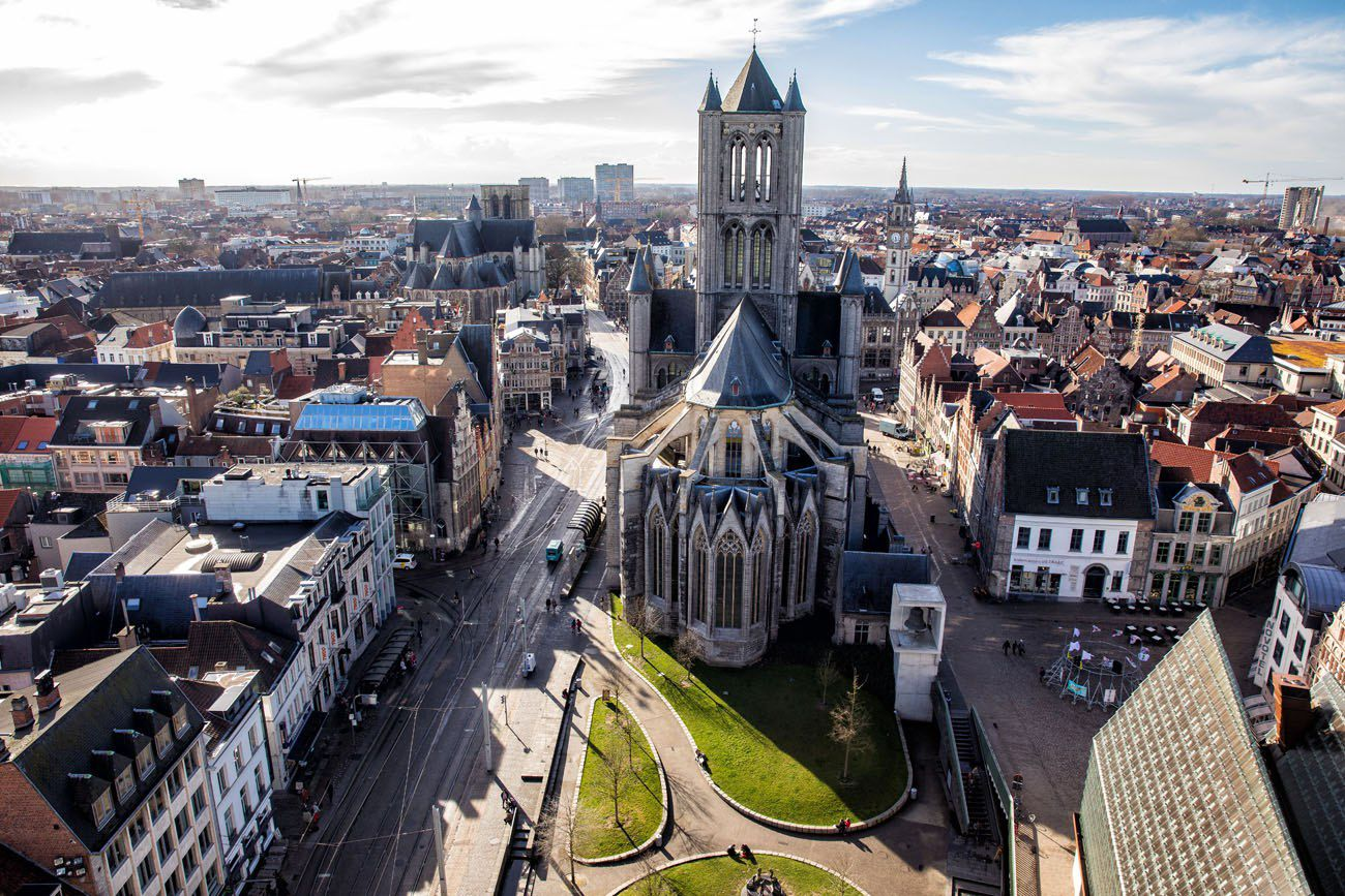 Overlooking Ghent