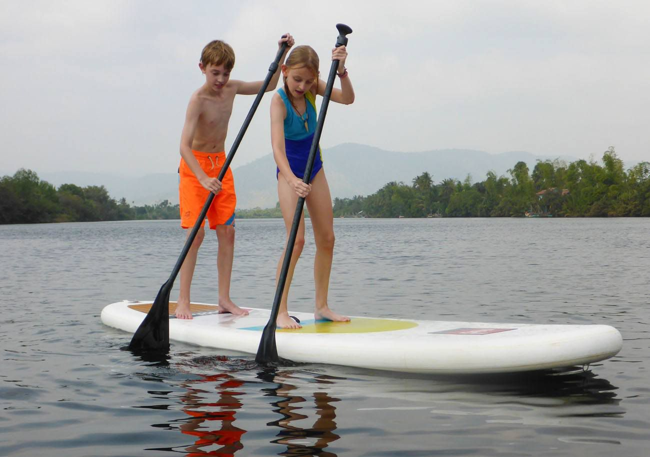 Paddleboarding Kampot
