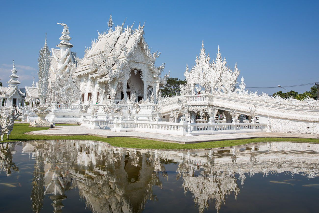 White Temple southeast Asia itinerary