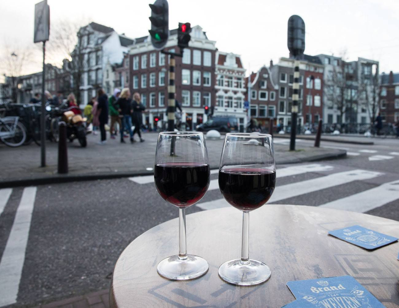 Wine in Amsterdam