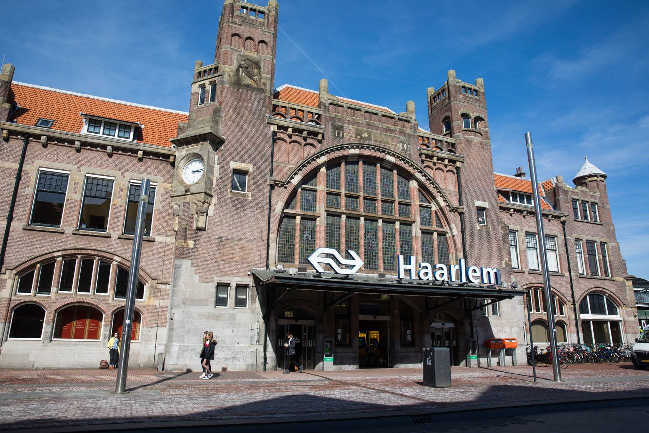 Haarlem Train Station