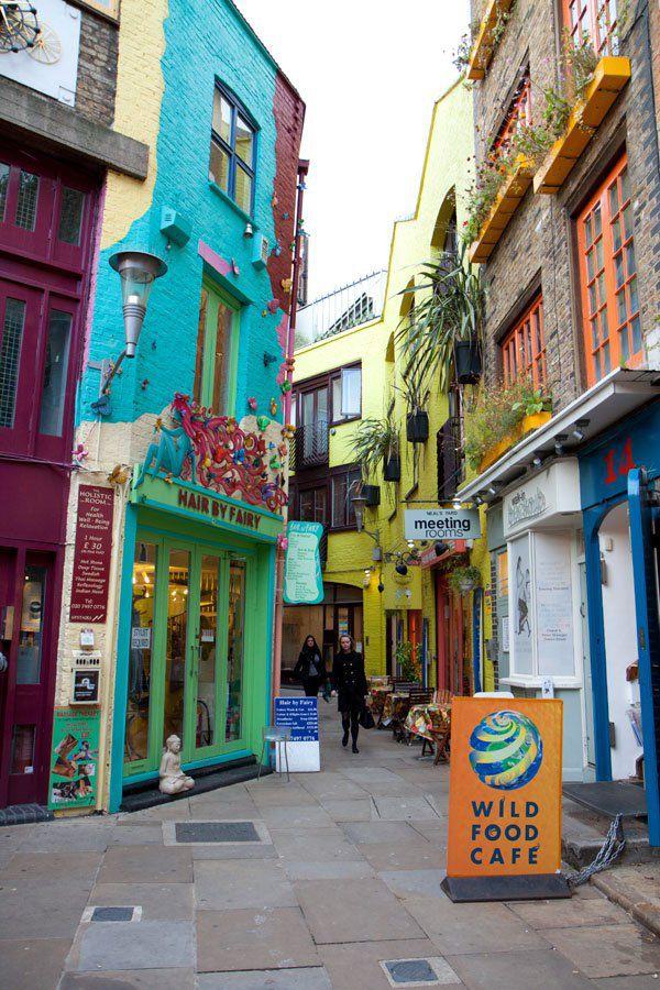 Neals Yard London Paris Amsterdam itinerary