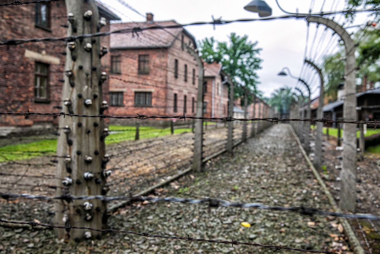 Auschwitz Electrical Fence