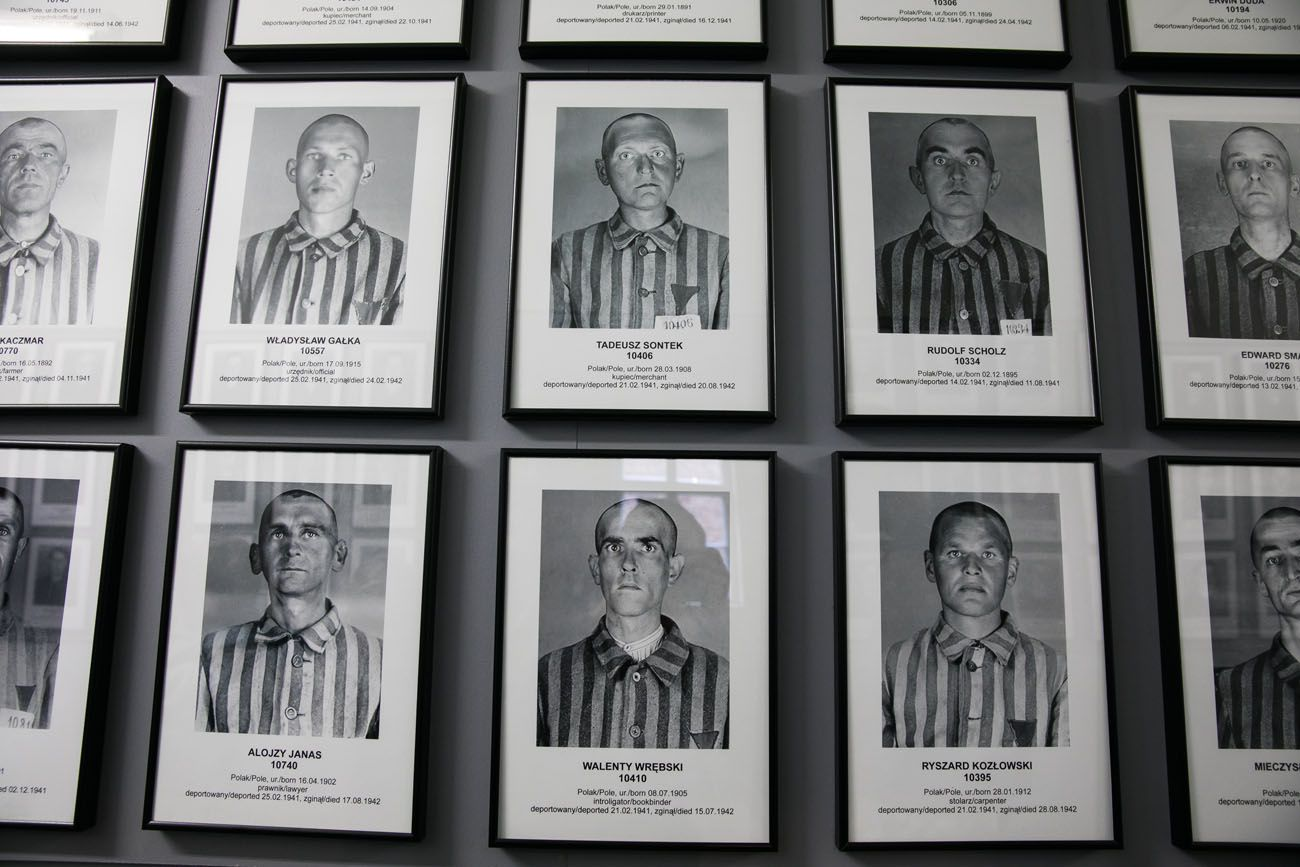 Auschwitz Victims Photographs