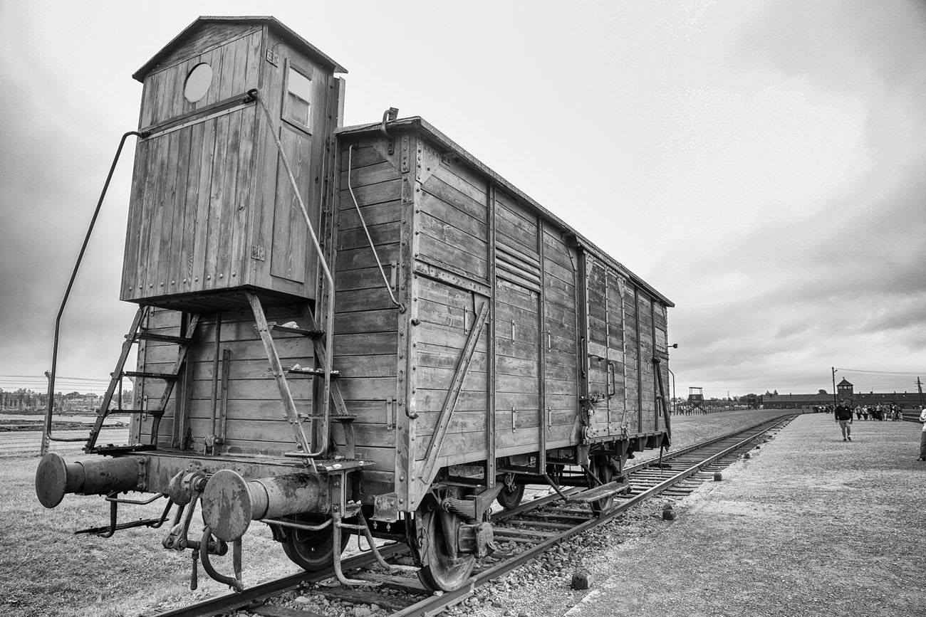 Cattle Car Auschwitz