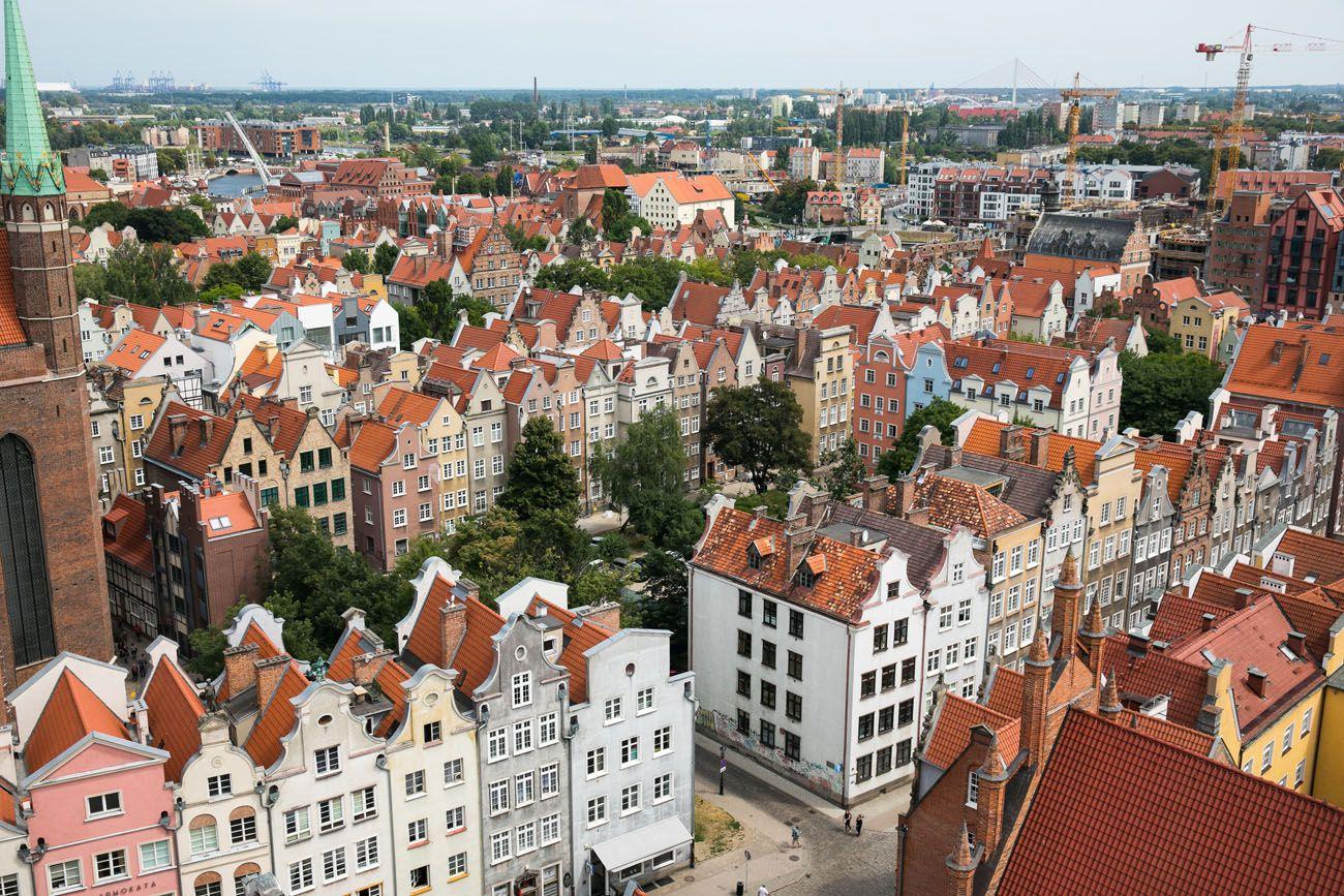 Gdansk Rooftops