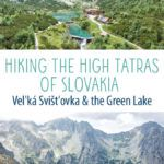 High Tatras Slovakia Green Lake