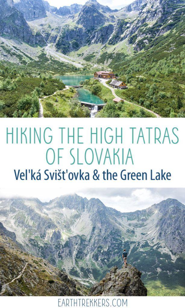 High Tatras Slovakia Green Lake