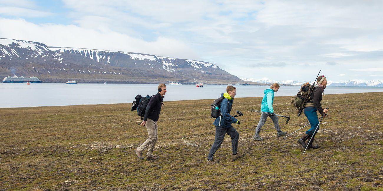 Hike Svalbard