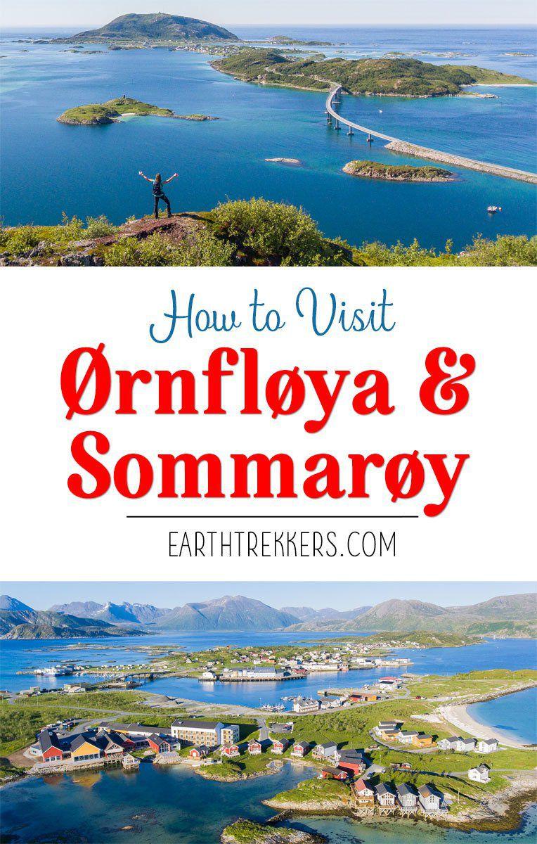 Hiking Ornfloya in Sommaroy Norway
