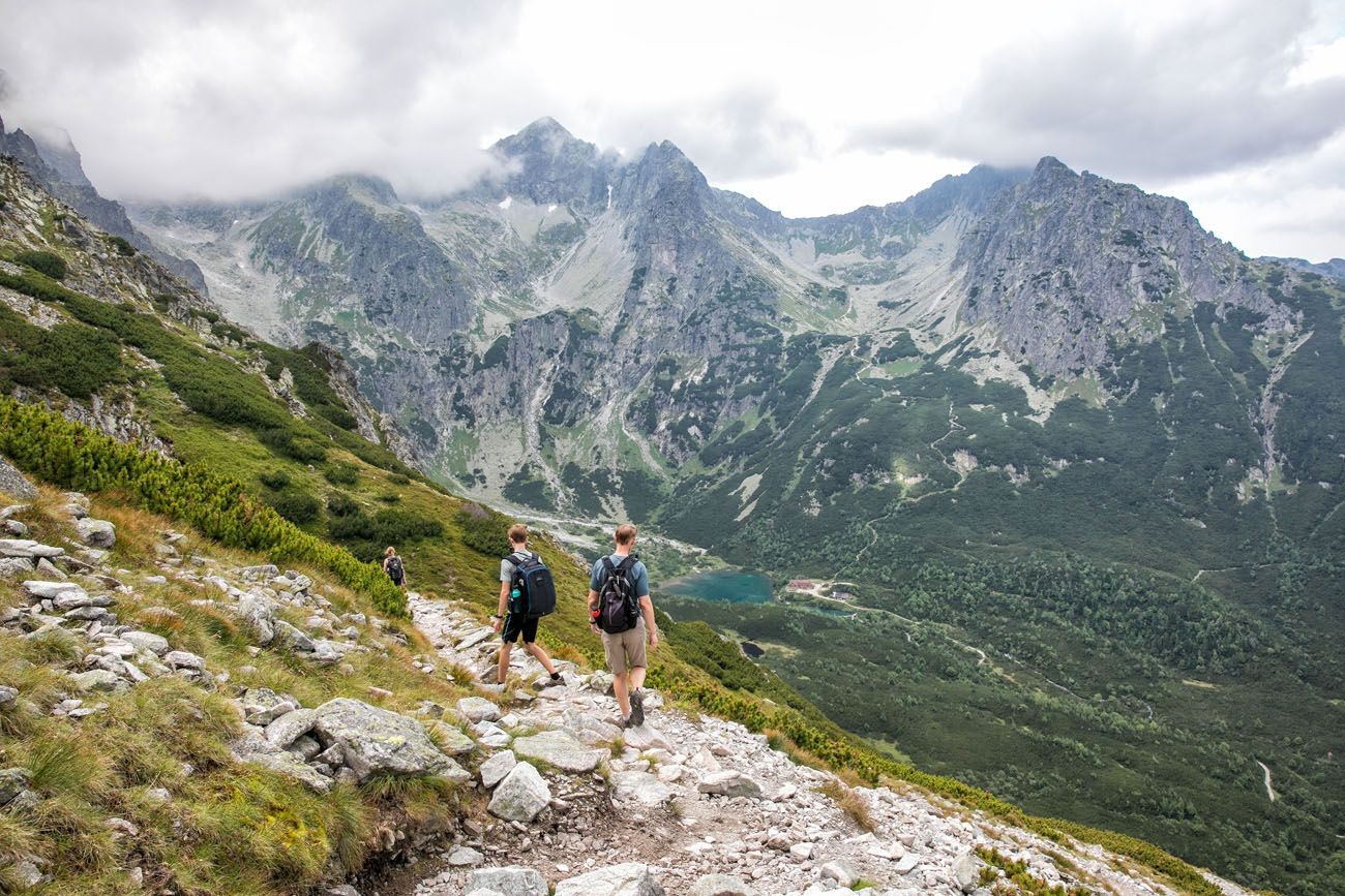 Hiking the Tatras