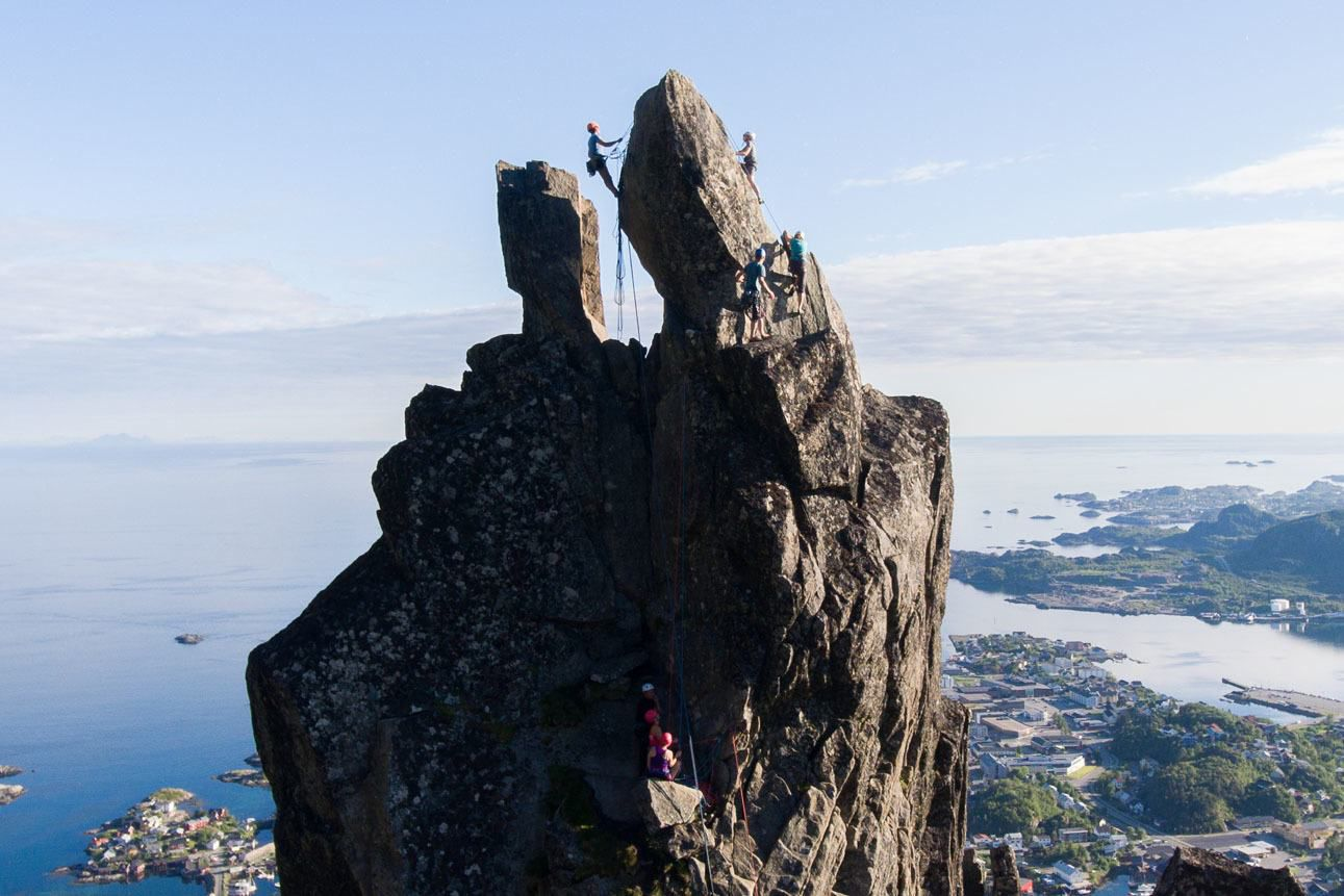 Kara Climb Svolvaergeita