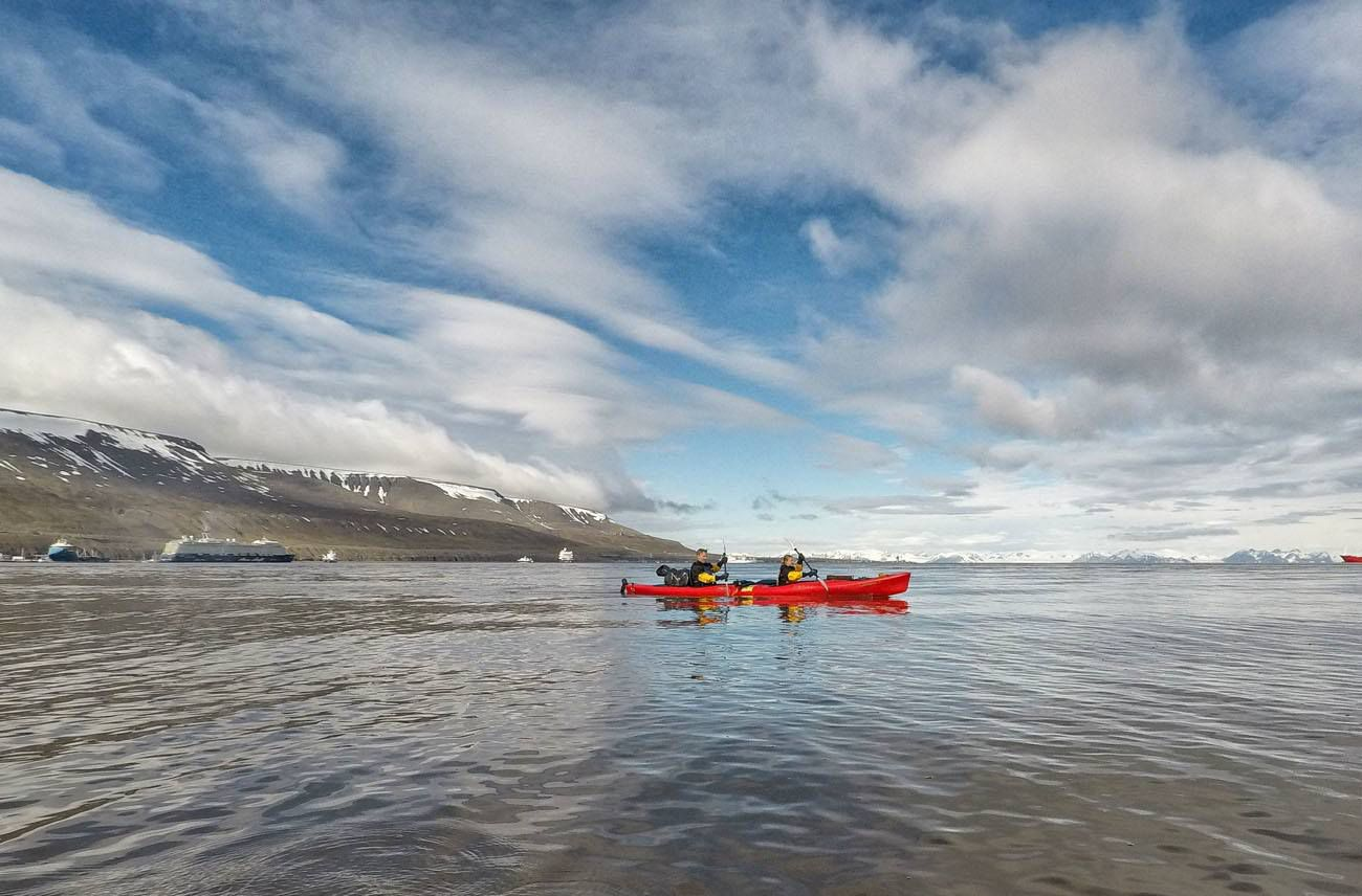 Kayak Adventfjord