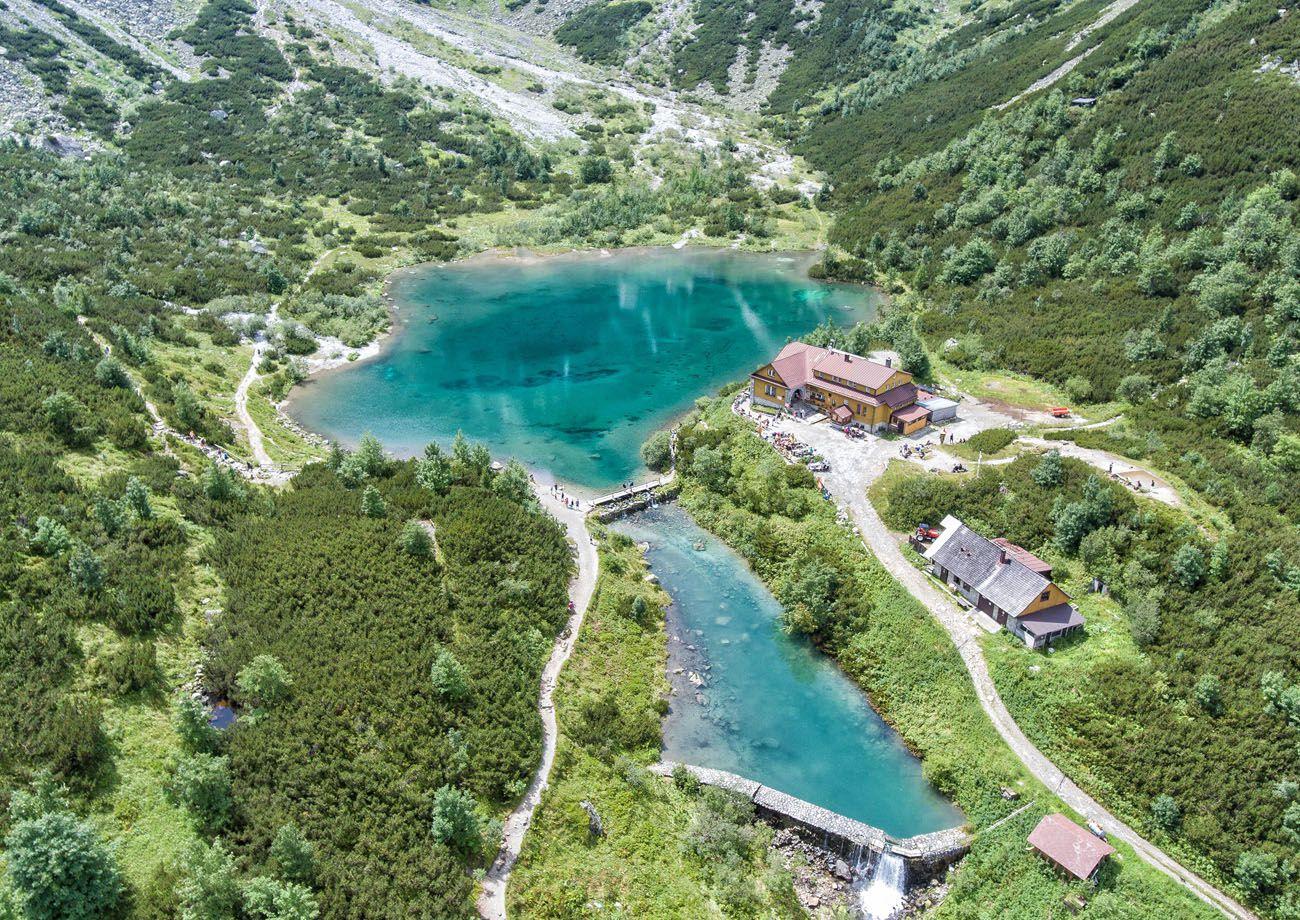 Slovakian Hike Drone
