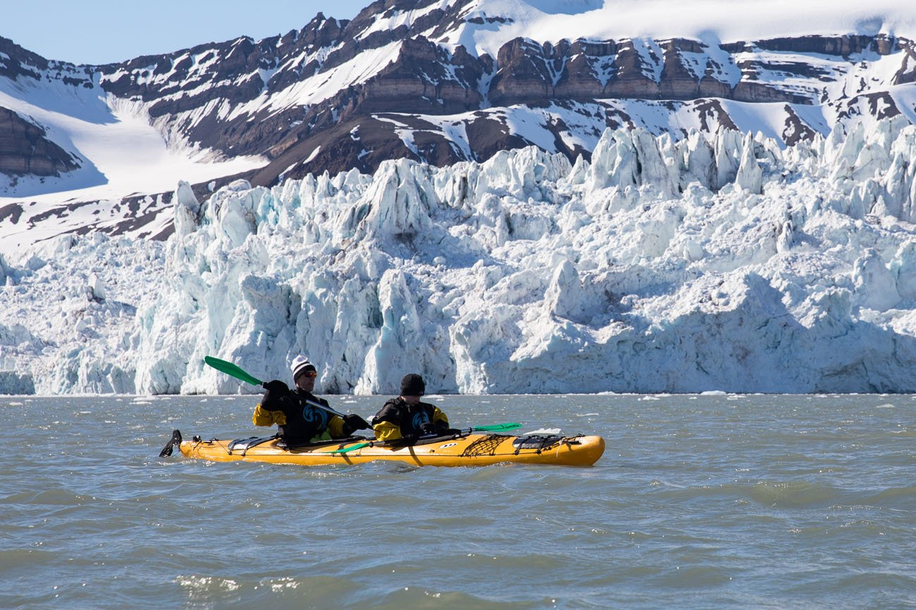 Svalbard Kayaking