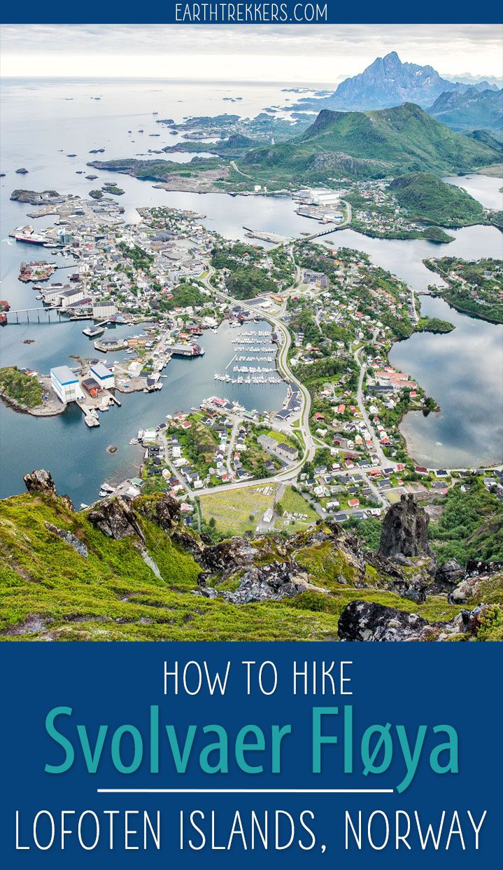 How to hike Svolvaer Floya in the Lofoten Islands. #lofoten #norway #svolvaer #floya