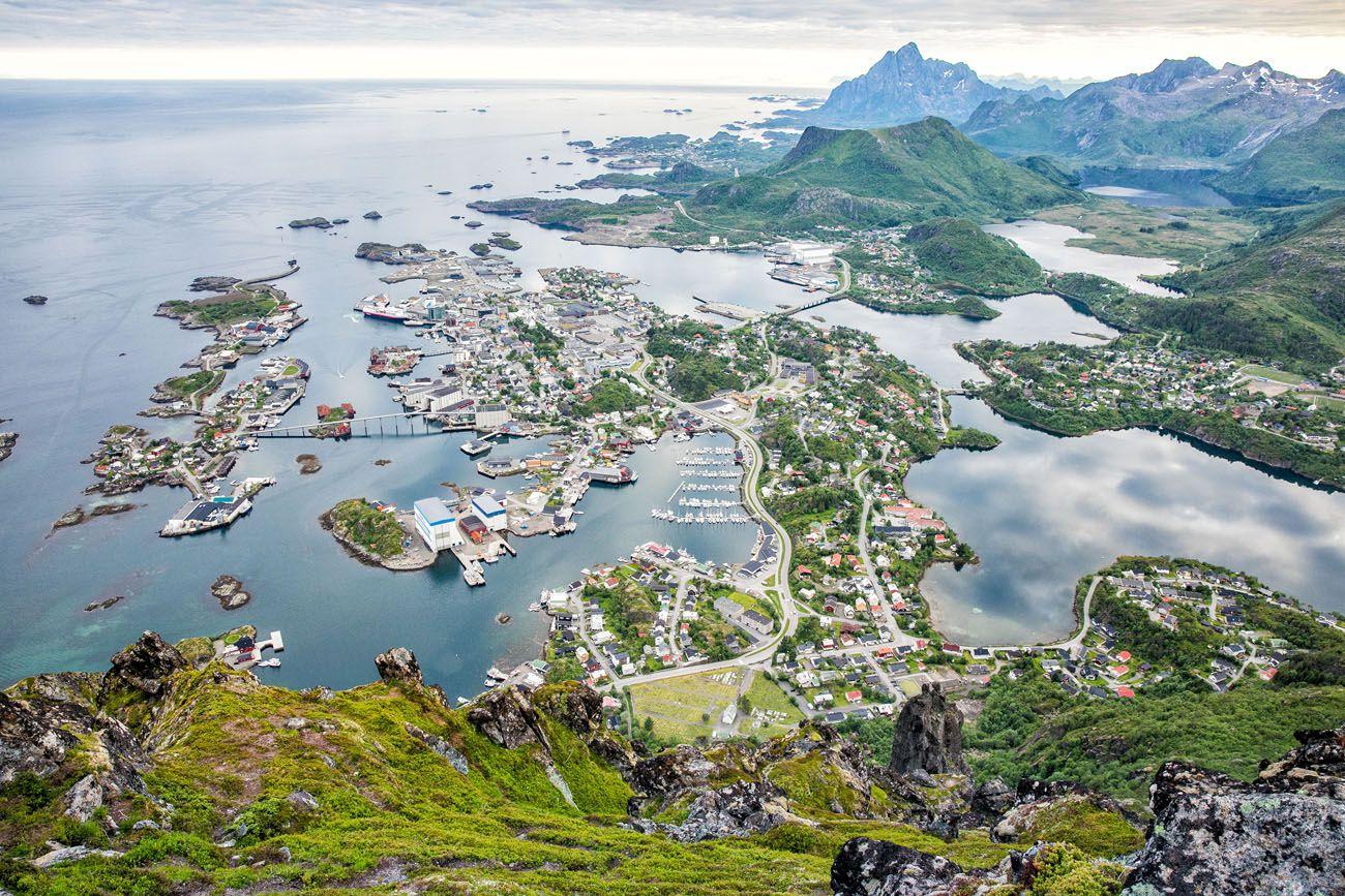 Svolvaer Fløya View