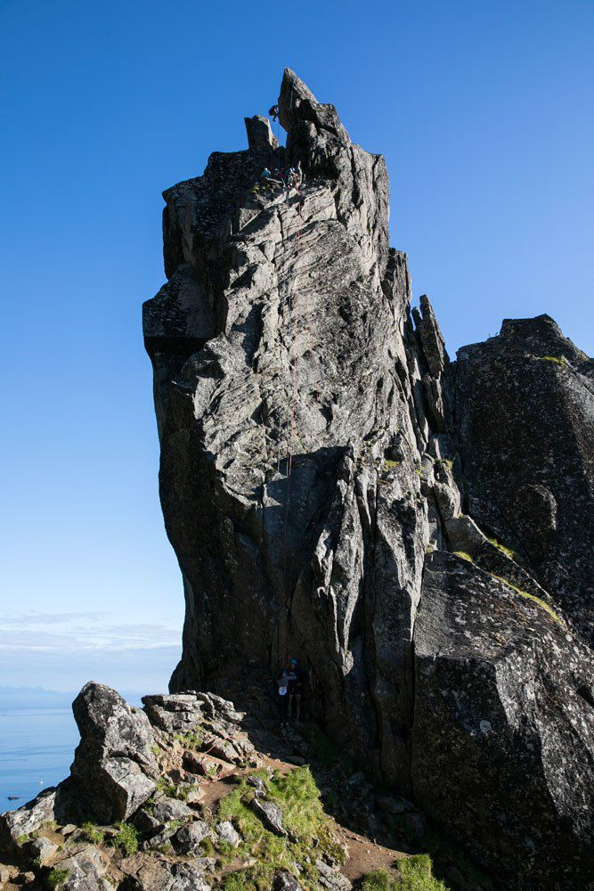 Svolvaergeita Climb