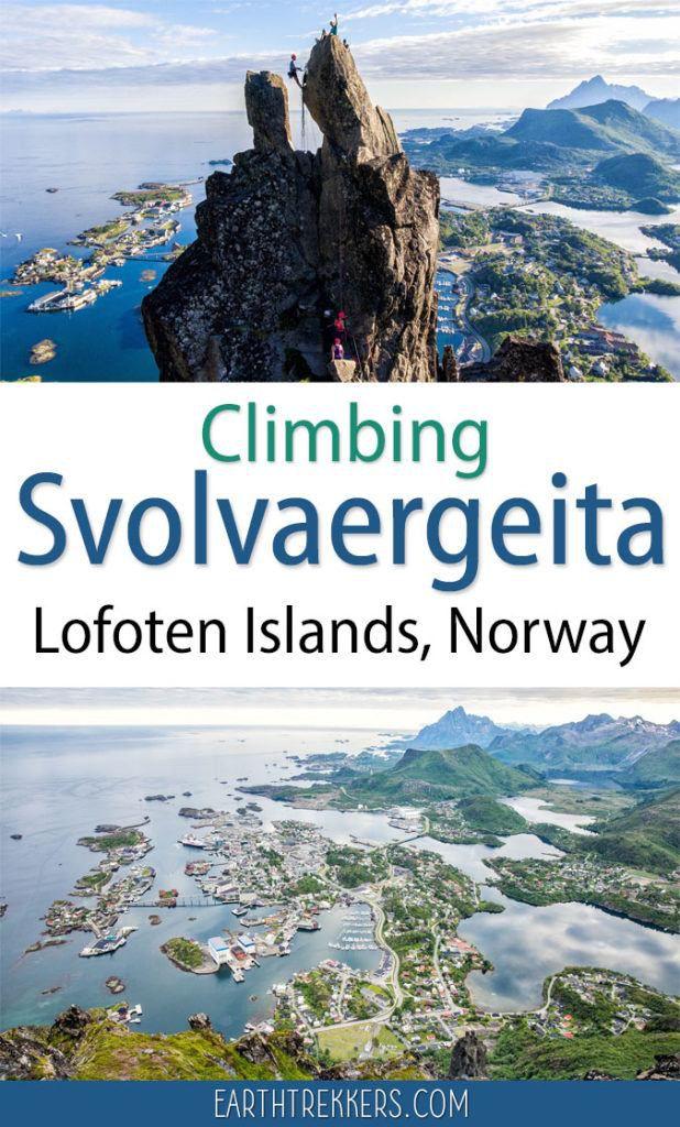 Svolvaergeita Lofoten Islands Norway