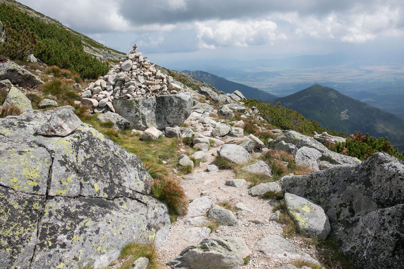 Trail Marker Slovakia