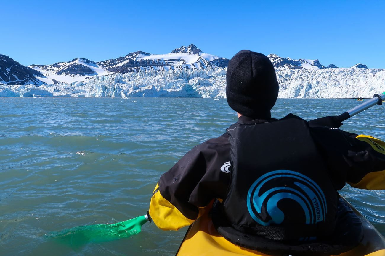 Tyler Kayaking Svalbard