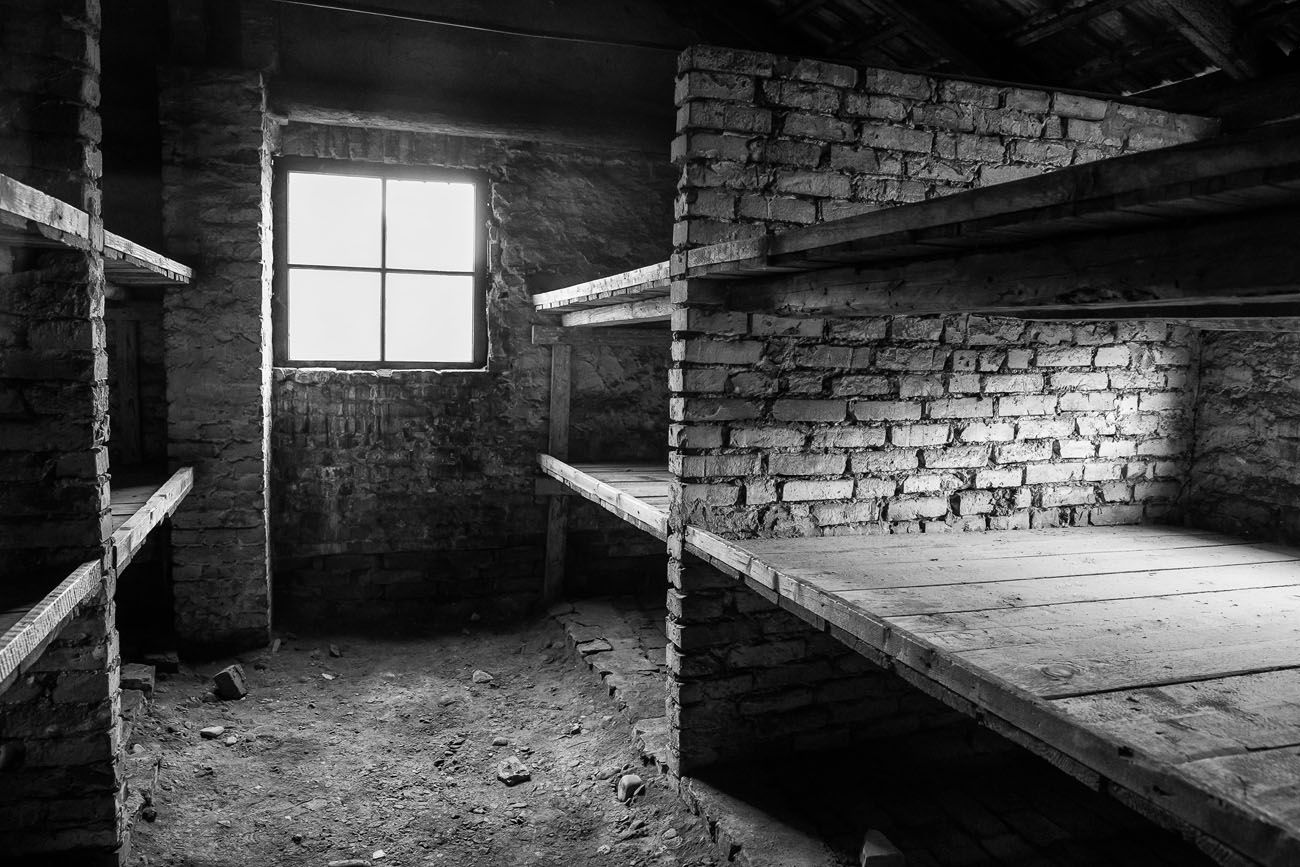 Womens barracks Auschwitz