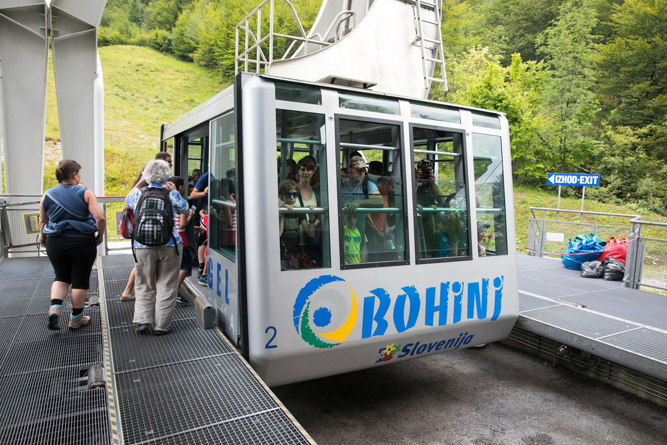 Bohinj Cable Car