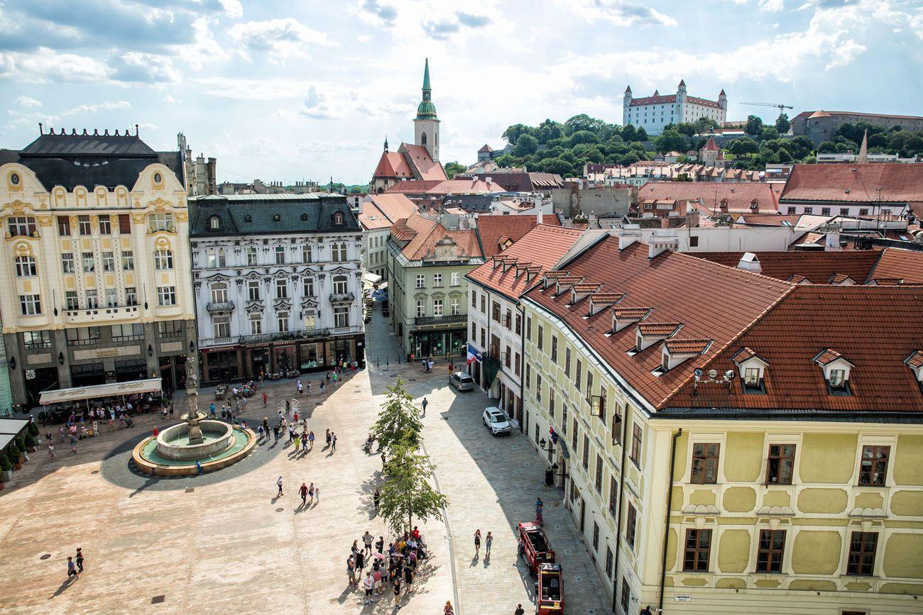 Bratislava Main Square