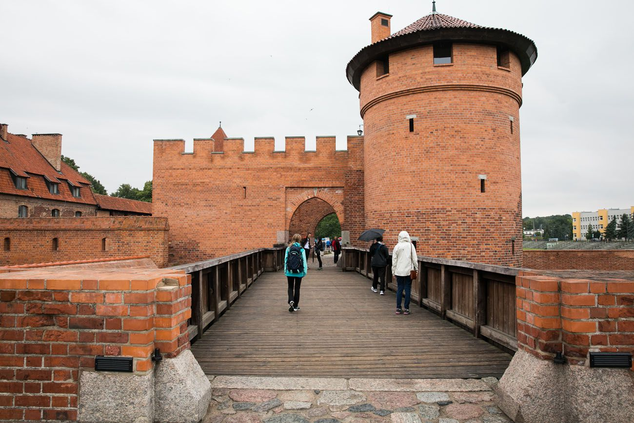 Entrance to Malbork Castle