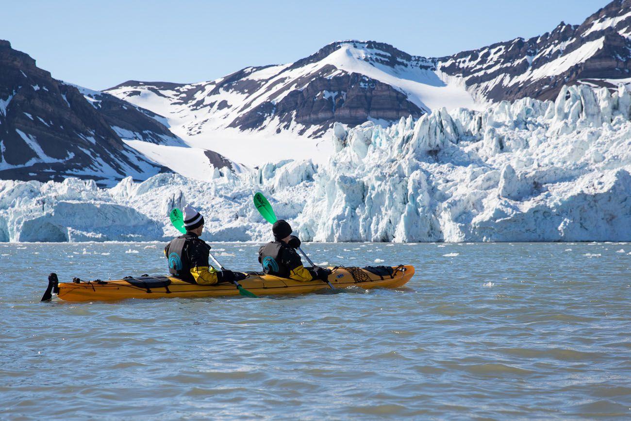 Glacier Kayaking Svalbard