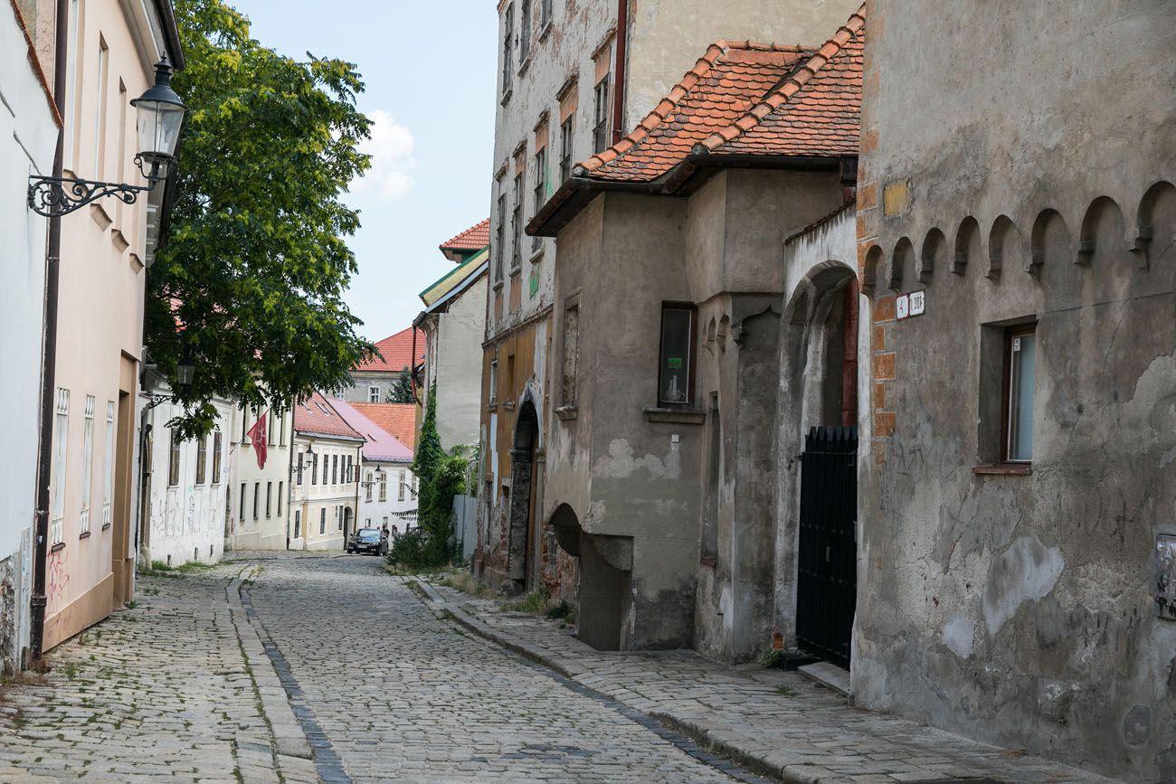 Kapitulska Street Bratislava