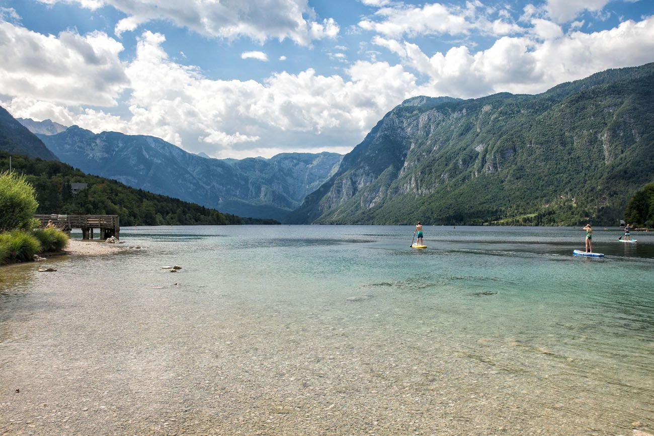 Lake Bohinj Paddle Boarding