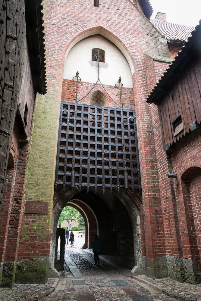 Malbork Castle Gate