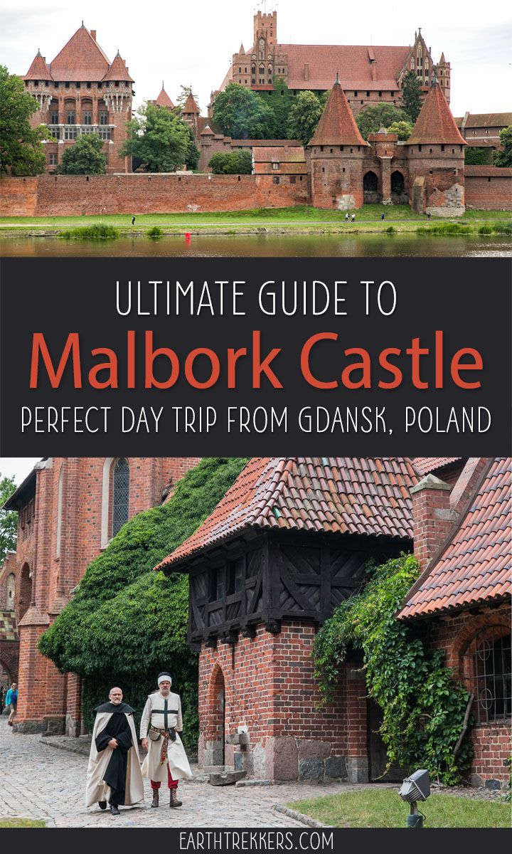 Malbork Castle, the perfect day trip from Gdansk, Poland. Here is how to do it. #malbork #malborkcastle #poland #gdansk