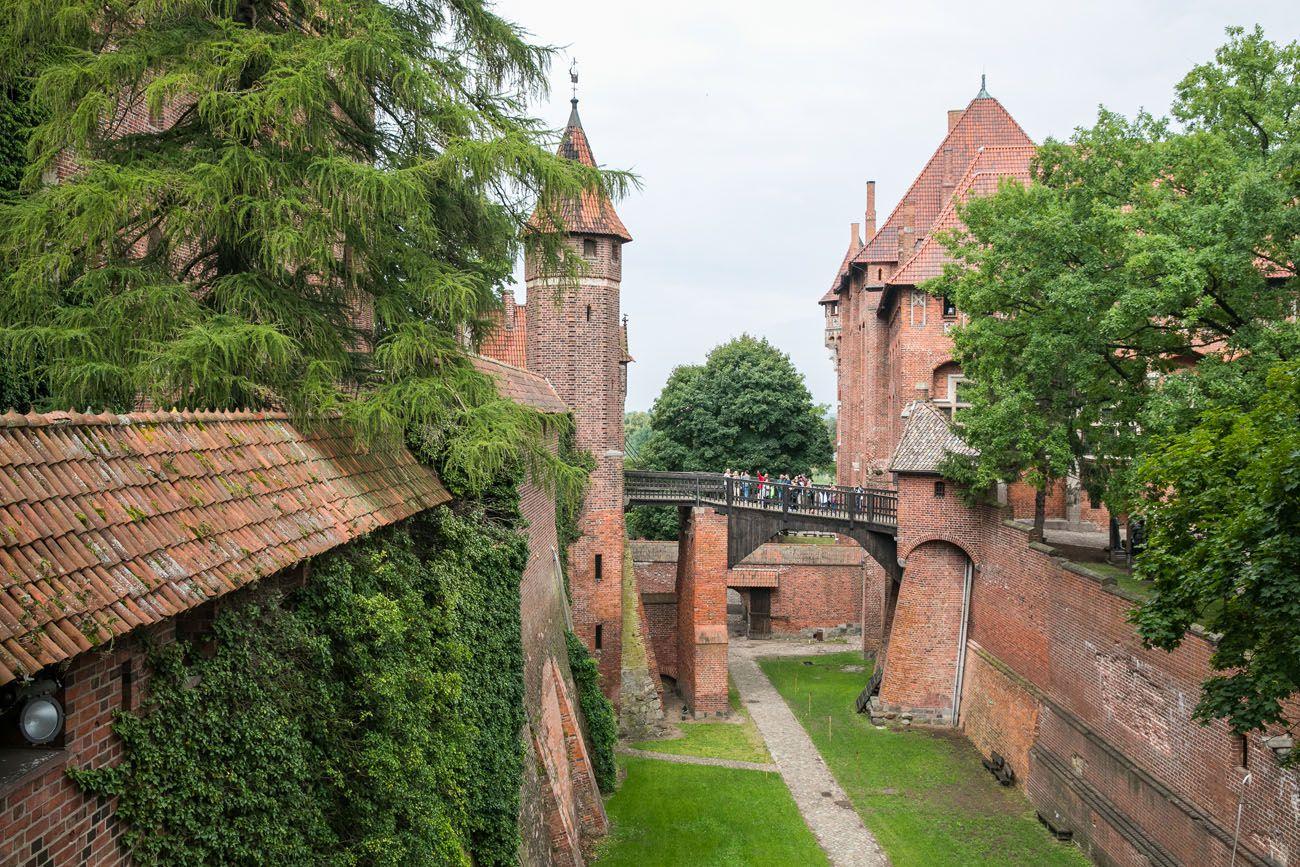 Malbork Castle Moat