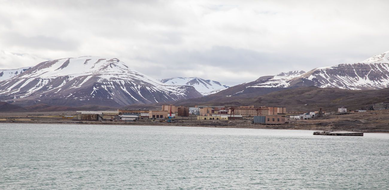 Pyramiden from a Distance