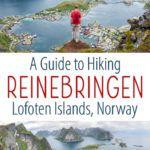 Reinebringen Lofoten Islands Norway Hike