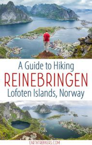 Reinebringen Lofoten Islands Norway Hike