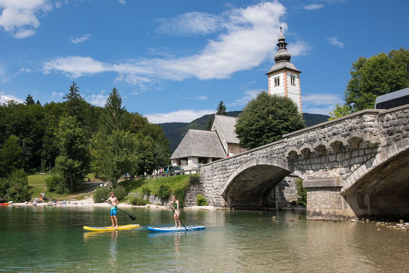 SUP Lake Bohinj