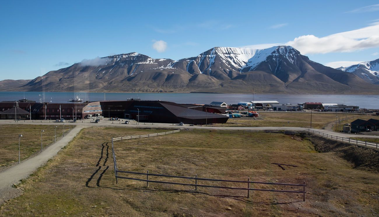 View from our Svalbard Room