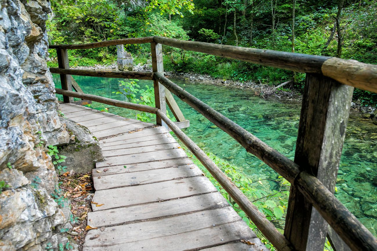 Vintgar Gorge Boardwalk