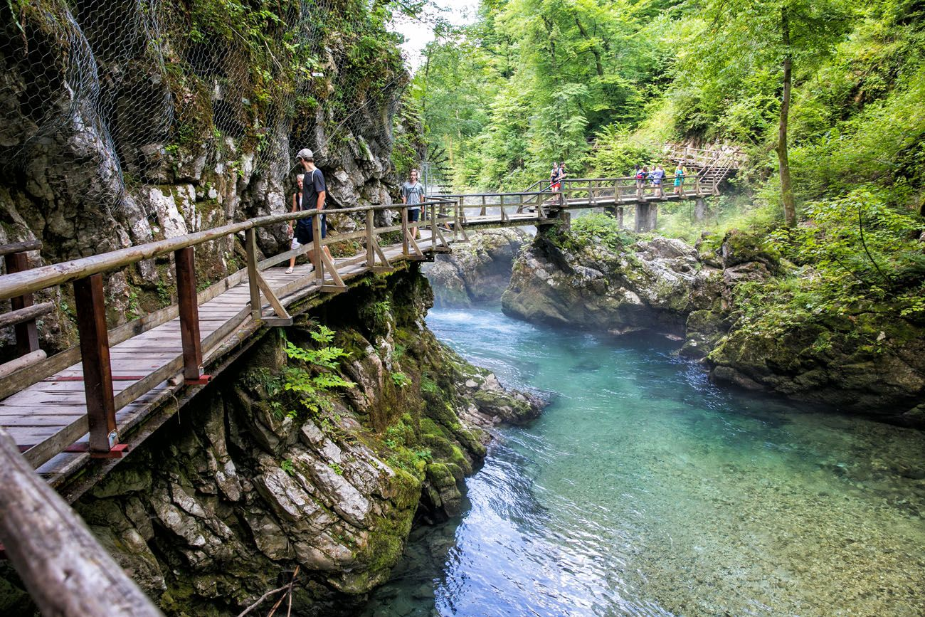 Vintgar Gorge Boardwalks